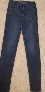 American Eagle Super Stretch Skinny Jean's Size 2L